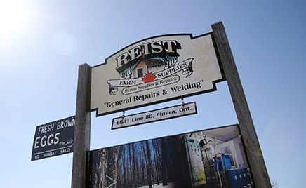 Reist Farm Supplies in Elmira provides the supplies needed to produce high quality maple syrup to producers across Ontario and into Quebec.[Whitney Neilson / The Observer]