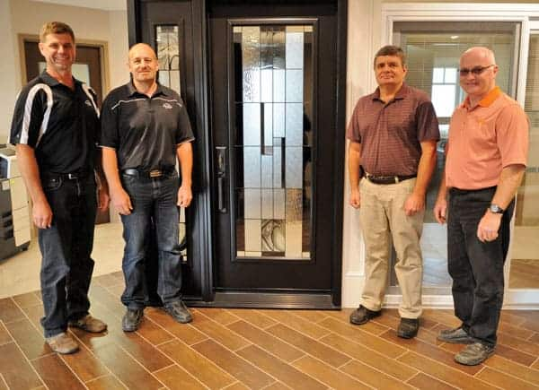 Darrell Martin, Trevor Martin, Karl Steckley, and Rob Martin are the four partners in charge of Way-Mar, which is celebrating more than 40 years in business.