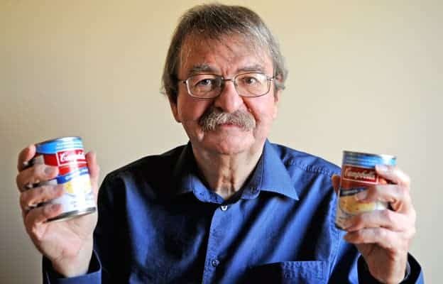Fred Karpala has been helping collect food for the Woolwich Community Services Christmas hamper program since 2006.[Whitney Neilson / The Observer]