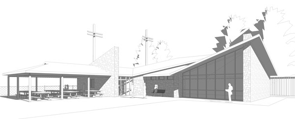 An artistic rendering of the proposed new fieldhouse for Heidelberg, where the current facility has been condemned. Woolwich is budgeting $300,000.[Submitted]