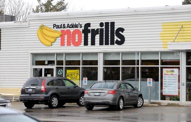 Following the acquisition of Shoppers Drug Mart by Loblaw, the Competition Bureau ordered the divestiture of certain stores, including the No Frills location in Elmira.[File Photo]