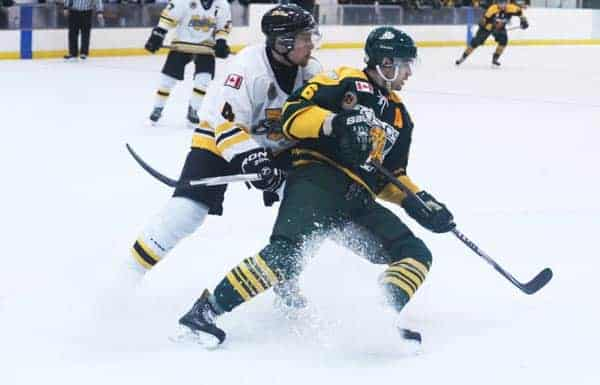 Adam Brubacher is the only current Sugar King who went through the Woolwich Minor Hockey system, a statistic both organizations are trying to change with their partnership.[File Photo]