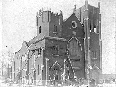 The St. James Lutheran Church at 60 Arthur St. in Elmira was dedicated as a place of worship on May 9, 1915. [Submitted]