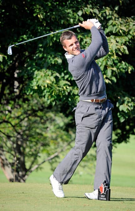 Elmira's Garrett Rank will compete for Canada in the Pan Am Games at the Angus Glen Golf Club in Markham July 16-19. [Submitted]