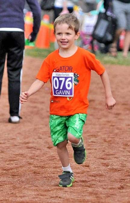 Youngsters will be out in numbers next week for the annual TriGator Triathlon, having a go at each of the athletic events.[File Photo]