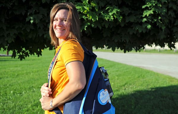 Laura Baxter is one of the 23,000 plus volunteers helping out at the Pan Am Games later this month in Toronto and the surrounding communities.[Whitney Neilson / The Observer]