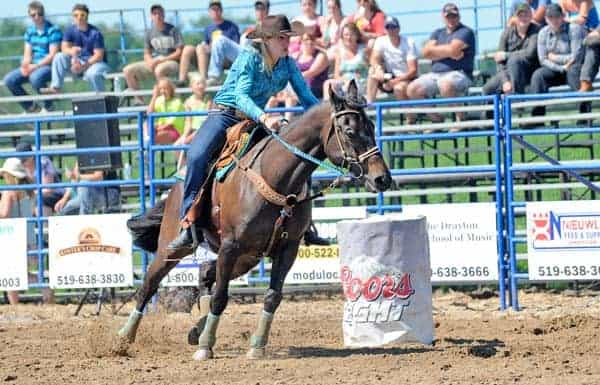 Calhoun Stables near Breslau once again host the rodeo, which also serves as fundraiser.[File Photo]