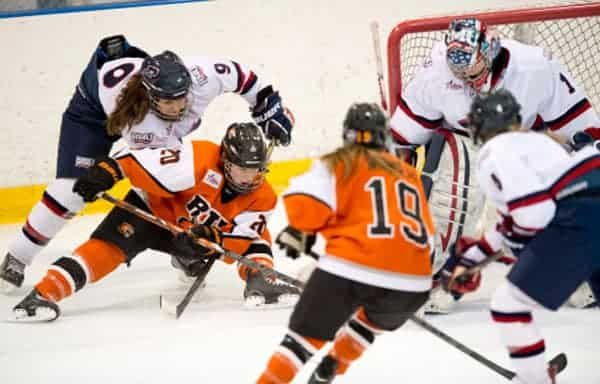 Elmira will be represented in the inaugural season of the National Women's Hockey League, as Erin Zach, recently graduated from RIT, just signed with the Buffalo Beauts.[Submitted]