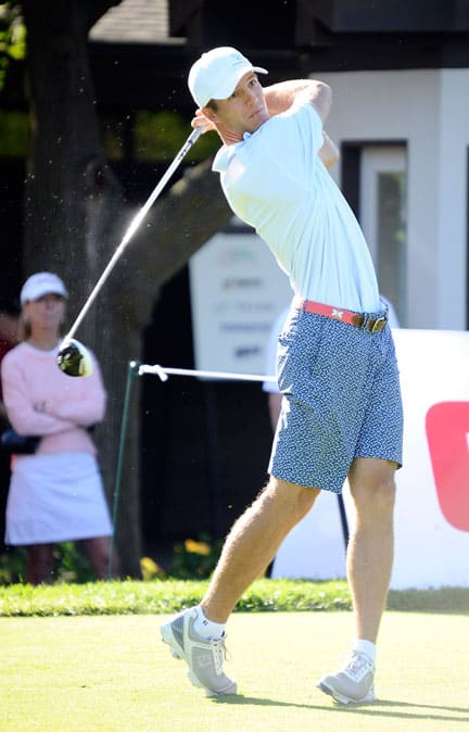 Garrett Rank fell in the first round of match play at the U.S Amateur, Wednesday at Olympia Fields Country Club in Illinois. A week prior, Rank finished second at the Canadian Amateur at Toronto's Weston and Lambton Golf and Country Clubs. [submitted]