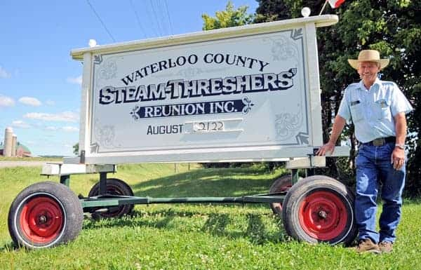 Tractor pulls, roasted corn, and good times will abound at the 21st annual Waterloo County Steam Threshers Reunion on Aug. 21-22 at Amsey Metzger's Wallenstein farm.[Whitney Neilson / The Observer]