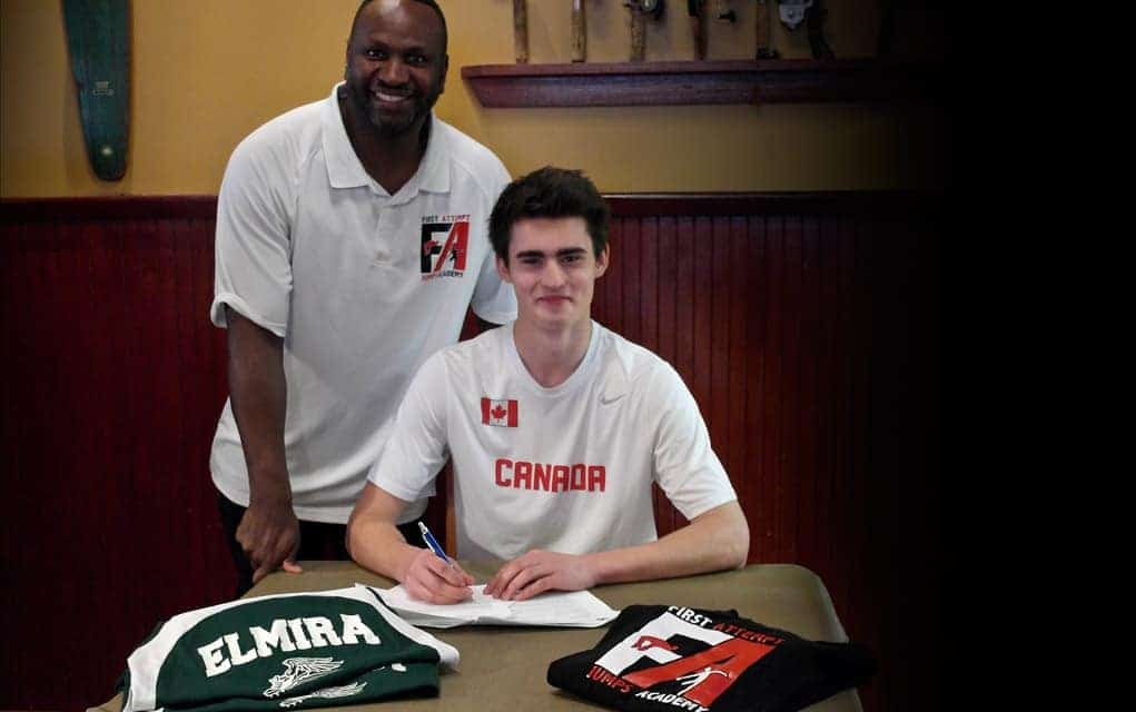 EDSS decathlete signs scholarship contract with the University of Houston