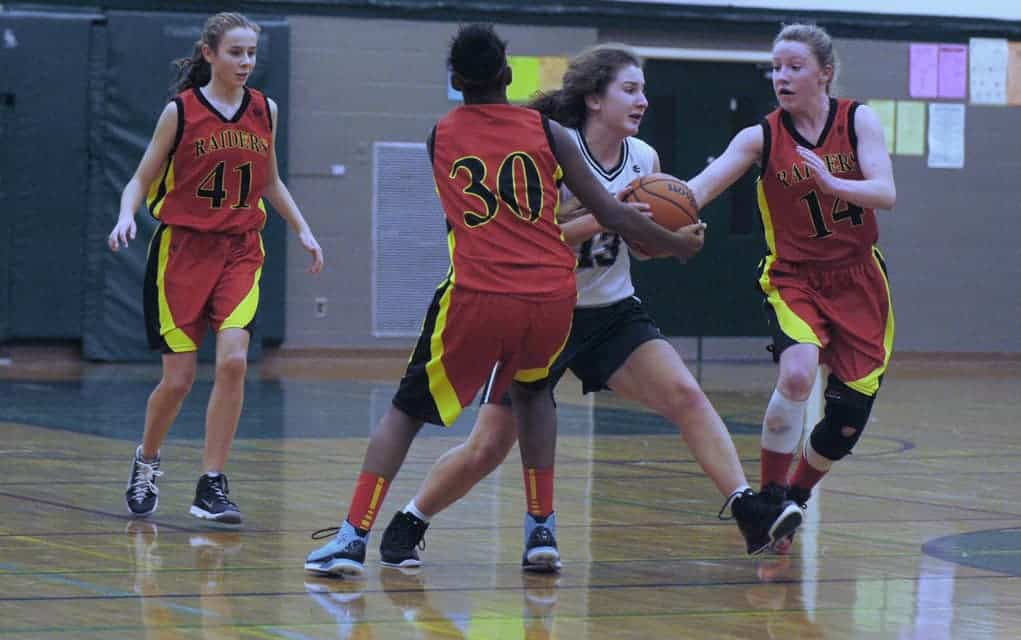 The junior girls' basketball team has closed out their season, sitting in fourth place.