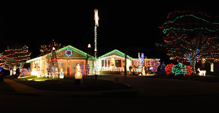 John Ziegler's Conestogo home has become an annual stop on the local seniors' Christmas lights tour, and a favourite for people near and far.[Whitney Neilson / The Observer]