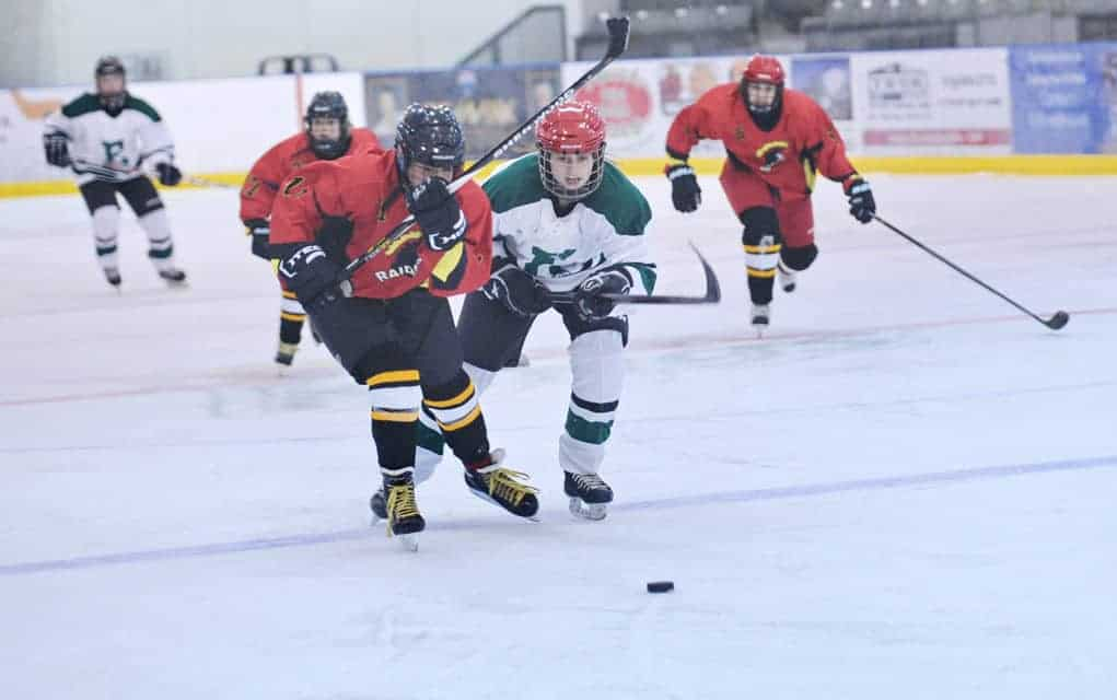 Girls come out flying as high school hockey season starts