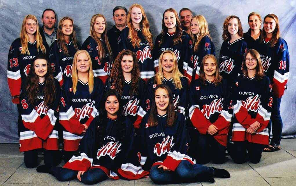 The Woolwich Wild Midget B team is raising money for the Ray of Hope Community Centre by participating in Coldest Night of the Year on Feb. 20.