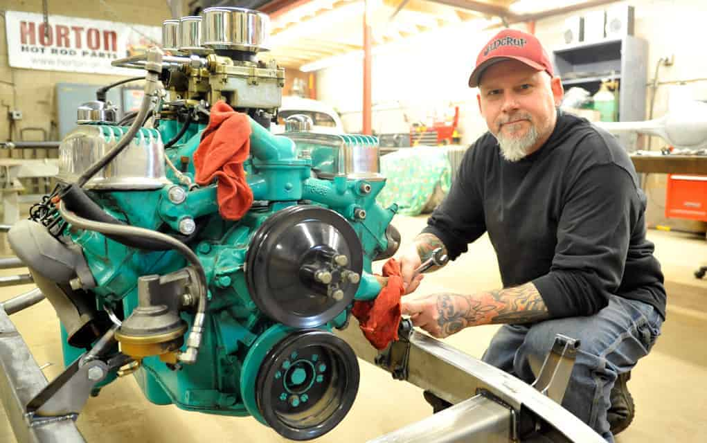 Bloomingdale man finds himself working on more than cars as part of the cast of Vegas Rat Rods