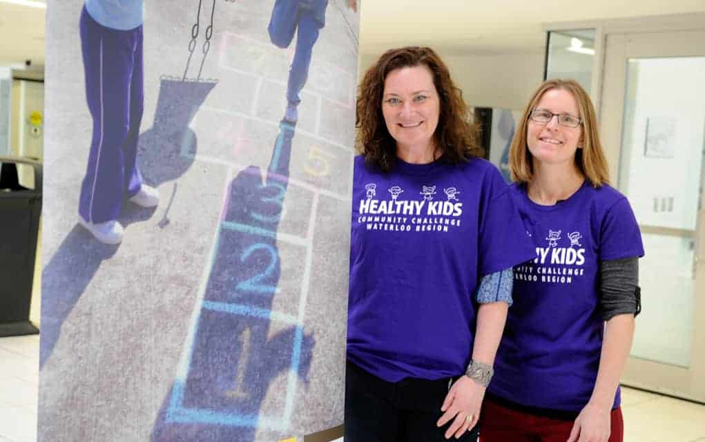 This week saw the launch of region-wide Healthy Kids Community Challenge, including Family Day activities at the Woolwich Memorial Centre in Elmira.