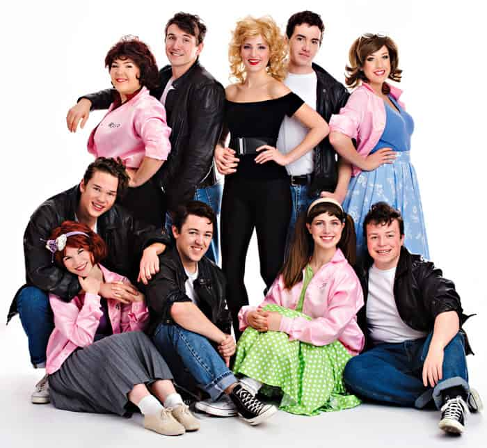The KWMP production of Grease, featuring the kids from Rydell High, opens Feb. 11 at the St. Jacobs Country Playhouse. [Submitted]