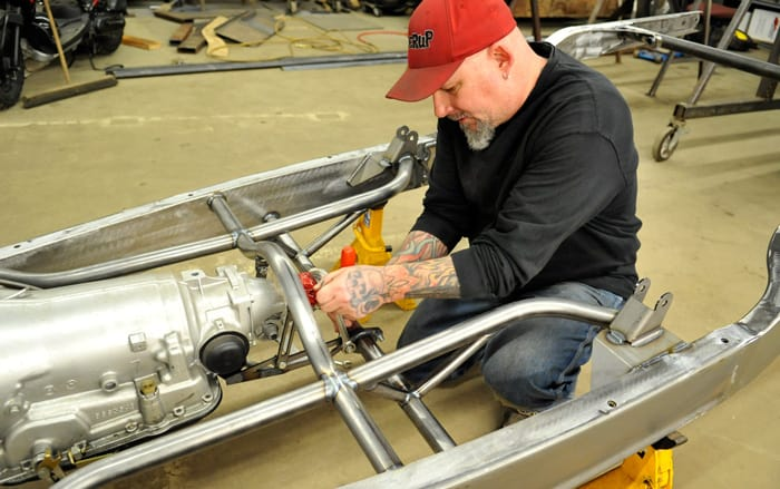 Bloomingdale resident and Elmira businessman Grant Schwartz has taken his knowledge of hot rods and motorcycles to the small screen in Vegas Rat Rods. The show airs Thursday nights at 9 p.m. on the Discovery Channel.[Liz Bevan / The Observer]
