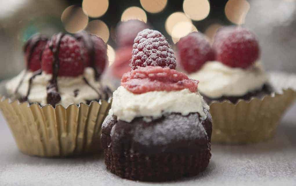 Chocolate and Raspberry Friands