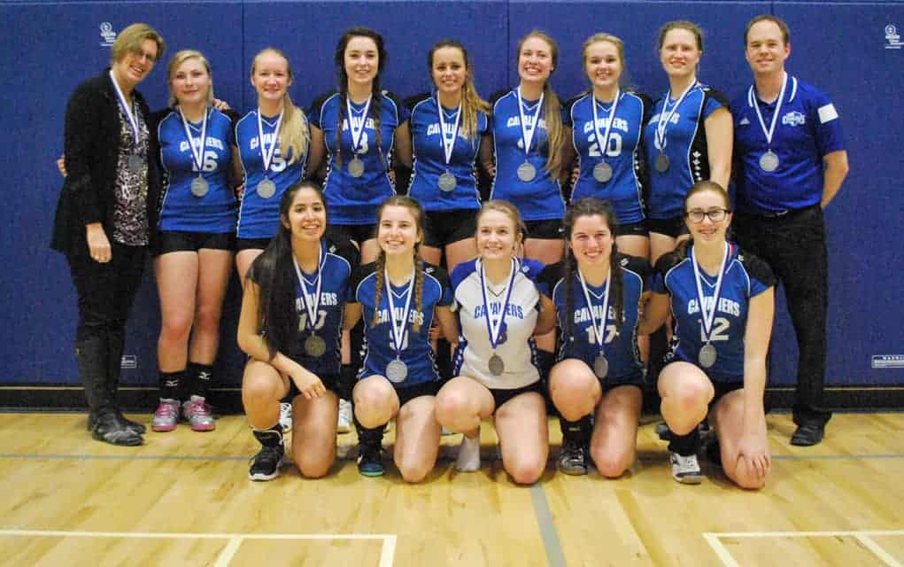 Woodland volleyball squad heading back to provincials