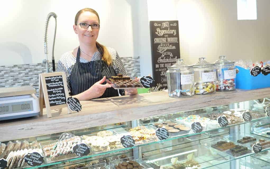 Opening Martin Lewis Confectionery the culmination of a whole lot of new experiences for owner Stephanie Kazdan.