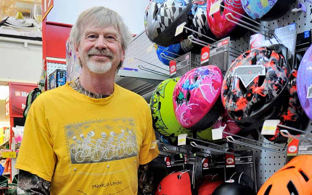 Elmira Home Hardware adds bike service with expert Peter Street, an advocate for safety in the sport