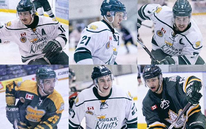 This was the final season of junior hockey with the Sugar Kings for Zac Coulter, Jake Moggy, Rob Kohli, Mackenzie MacSorley, Kevin Fitzpatrick and Kalob Witzell.