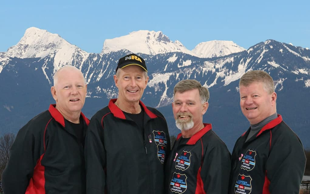 Local cop, now retired, part of Team Ontario at Canadian Police Curling Championships