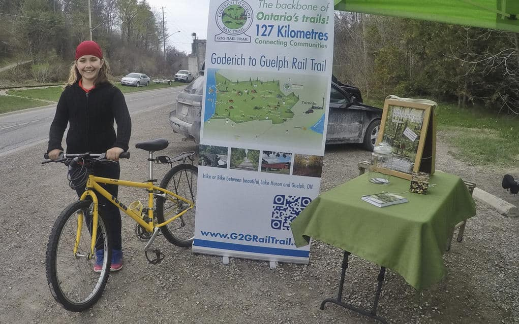 Local volunteers gearing up for the annual Spring on the Trail event that stretches from Guelph to Goderich