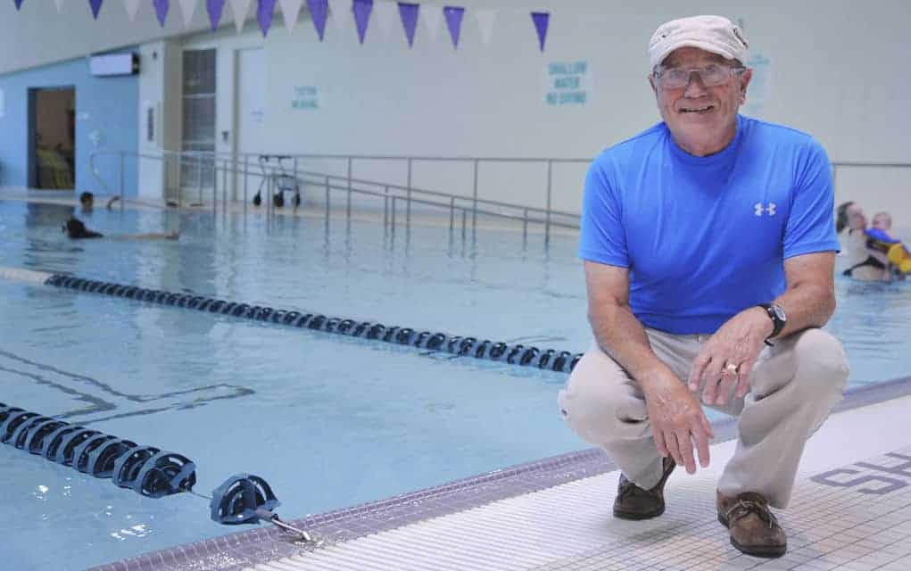 Kitchener man training at Elmira facility hopes to become the oldest person to swim across the lake