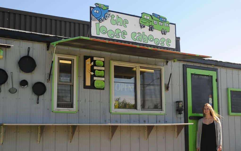 Elmira resident Kelly Schwindt and friends are running the Loose Caboose in Elmira this summer, open every day except Mondays.[Whitney Neilson / The Observer]