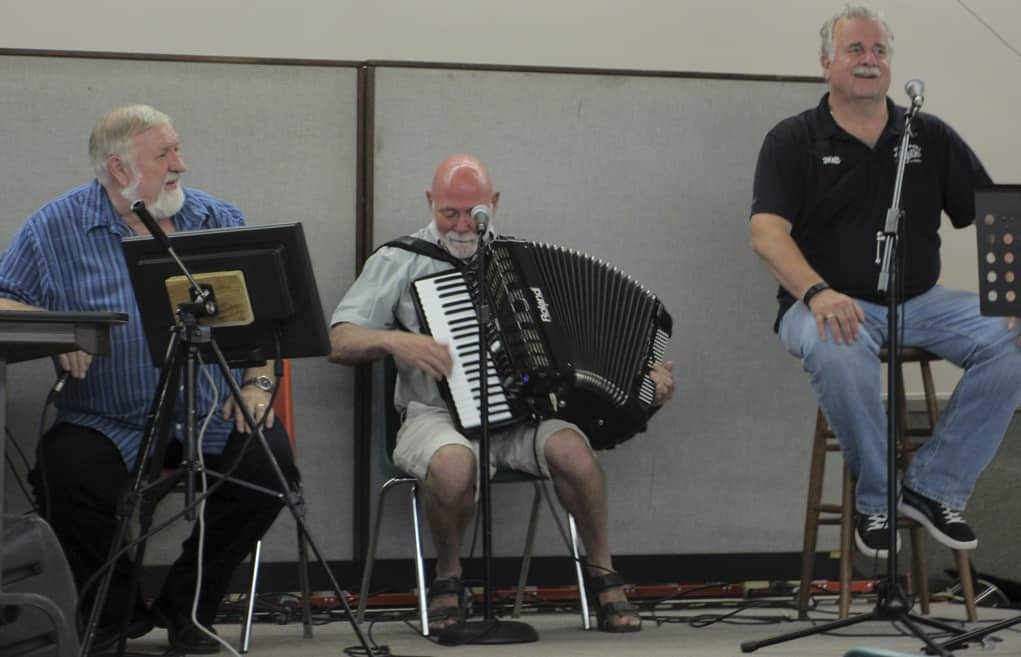Melody Train - Ron Andraza, Alan Hurtle and Casey Uhrig.