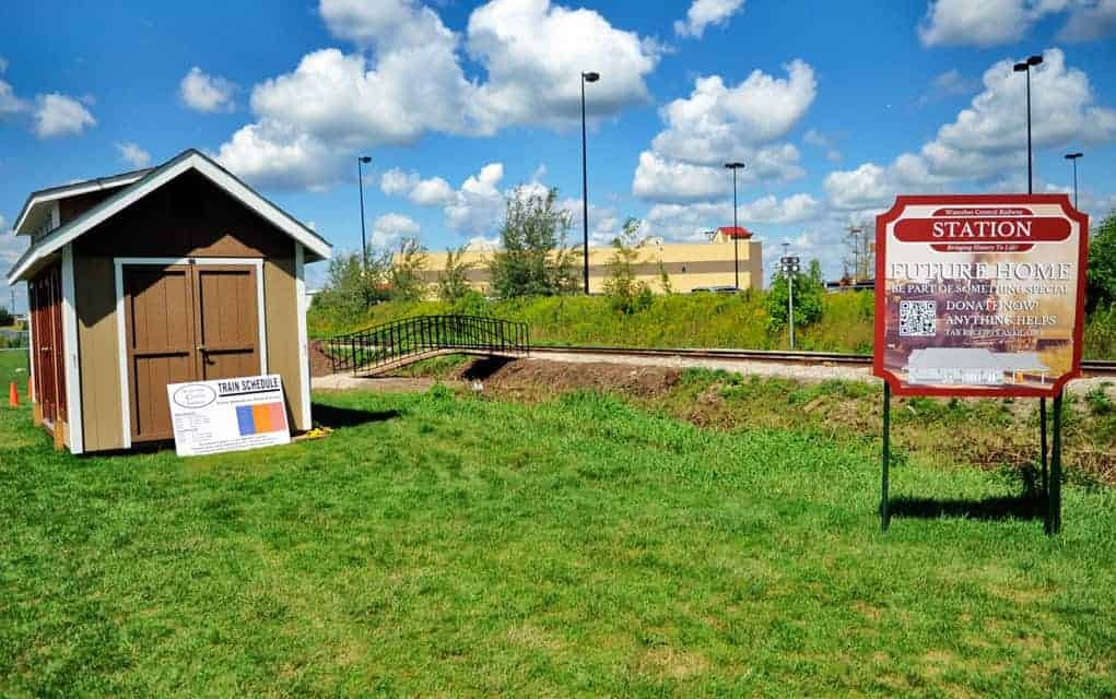 The Waterloo Central Railway has begun a fundraising campaign to help construct a train station at the St. Jacobs Farmers' Market stop.