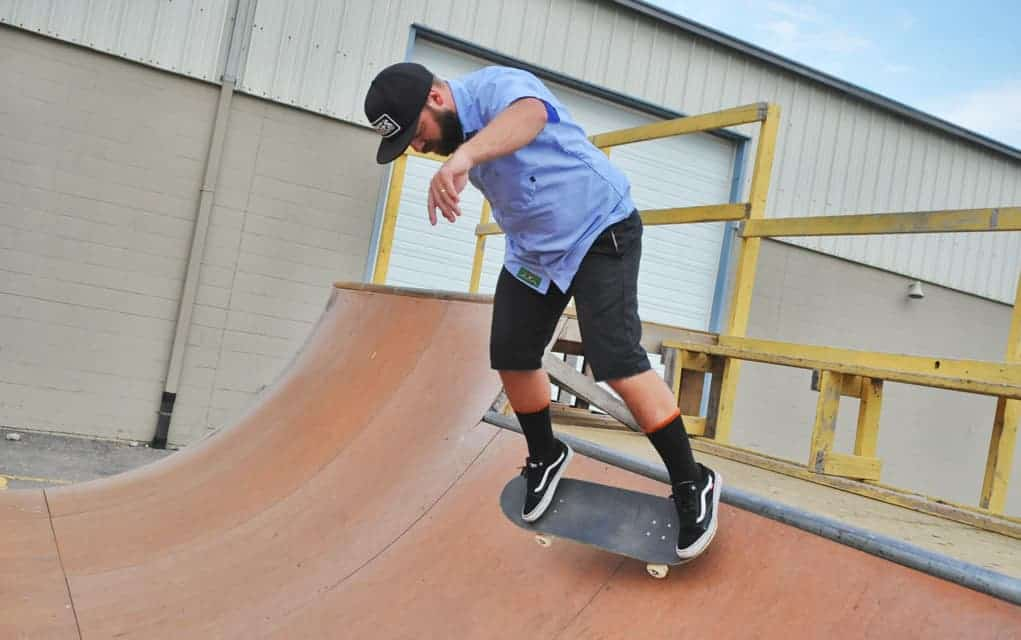 Wellesley ponders plan to enlarge skateboard half pipe outside village arena