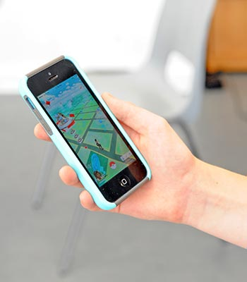 Pokémon Go phone app has been leading players all over town looking to catch a Pokémon.