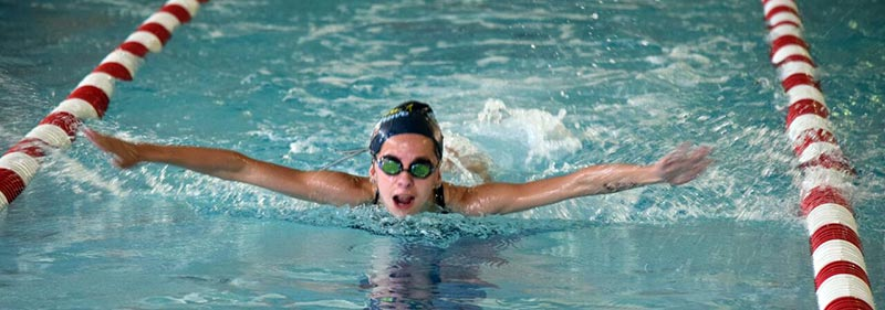 Grace Parker set a new South Western Ontario Swim Association record for the 100-metre medley, beating out the old one by less than a second.[submitted]