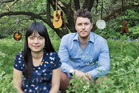 The Elmira Theatre Company hosts The Bombadils, Sarah Frank and Luke Fraser, for one night only on Sept. 8. The duo play a variety of instruments and will be joined by cello player Kaitlyn Raitz.[Submitted]
