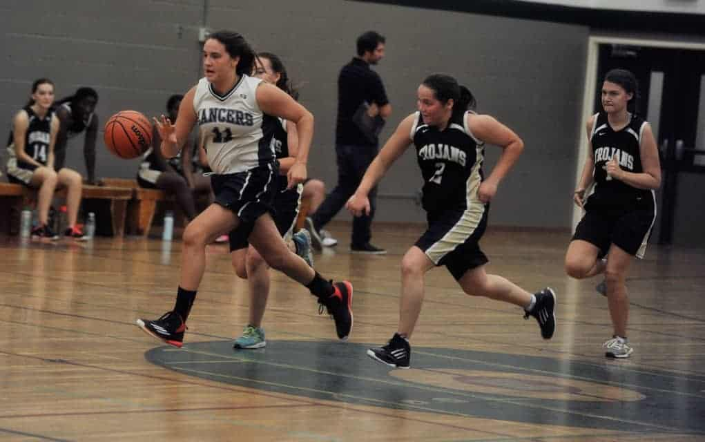 It was a big win for small squad as the EDSS senior girls' basketball team starts the season on the right foot