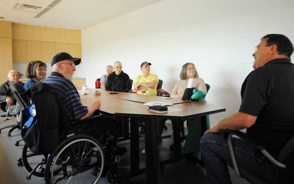 Socializing with others recovering from stroke takes the Expressive Café experience beyond therapy