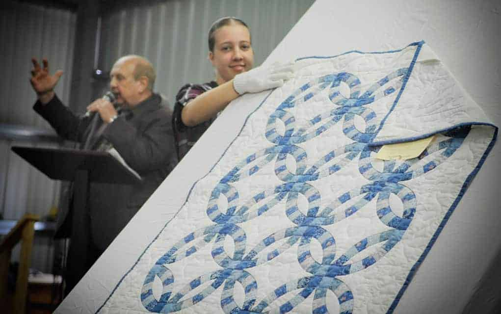 Quilts go under the gavel Saturday in popular EDCL fundraising event