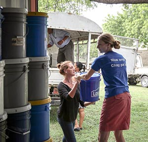 When Hurricane Matthew hit Haiti early last month, MCC Ontario was already on the island, helping any way they could, with food supplies and water purification kits.[Submitted]