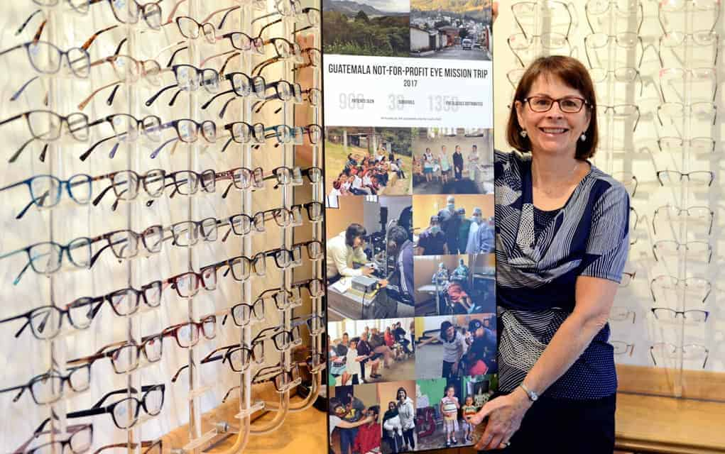 Elmira optometrist Carole Wilkinson's trip to Guatemala as a volunteer proved to be an eye-opening experience in more ways than one.