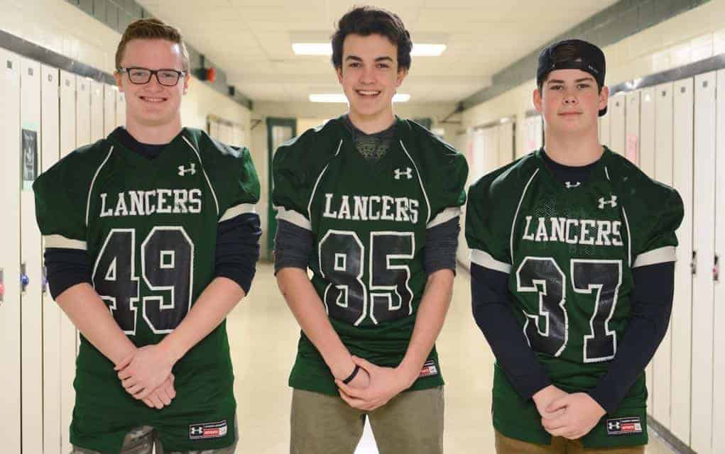 Three EDSS football players looking to spend the summer
