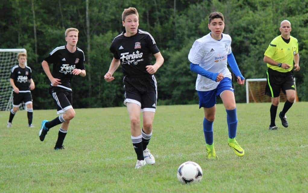 Woolwich Youth Soccer house league teams now winding down their season