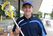 Conestogo's Tyler Townsend had a Wild rookie year with the Wilmot Jr. C Lacrosse team.