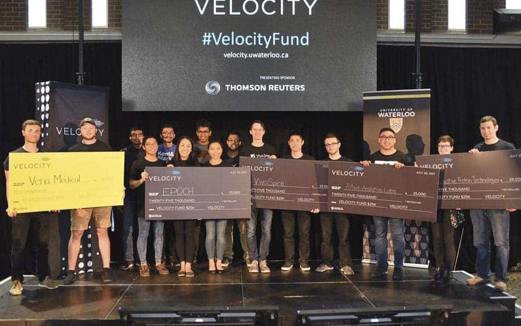 Company a winner at competition hosted by University of Waterloo Velocity program