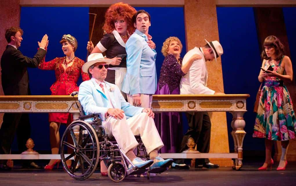 Farce now playing at St. Jacobs Country Playhouse determines who'll be the Lucky Stiff, benefactor or beneficiary