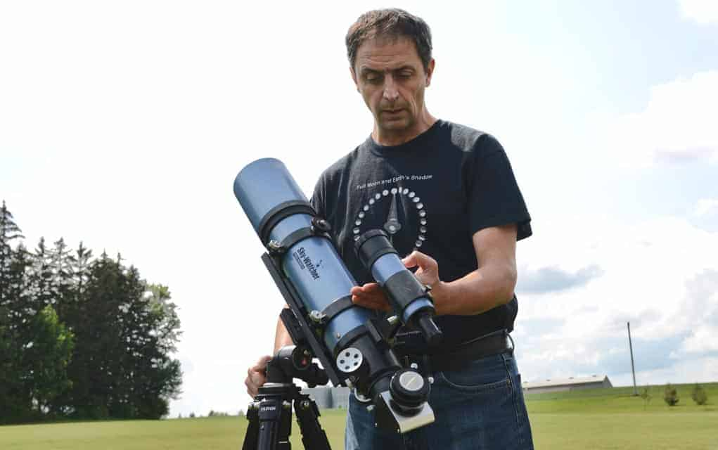 St. Clements amateur astronomer plans drive to Missouri to take in the full solar eclipse on Aug. 21