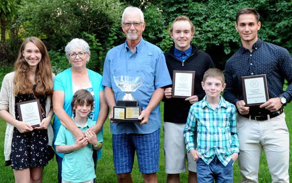 Three local athletes recipients of Dan Snyder scholarships